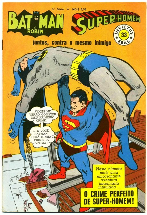 INVICTUS nº33 (BATMAN E SUPERMAN) - EBAL