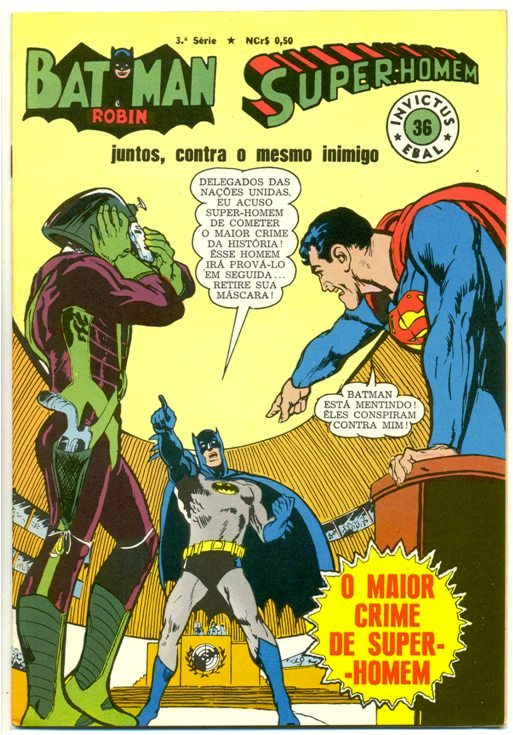 INVICTUS nº36 (BATMAN E SUPERMAN) - EBAL