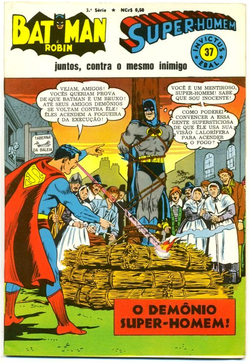 INVICTUS nº37 (BATMAN E SUPERMAN) - EBAL