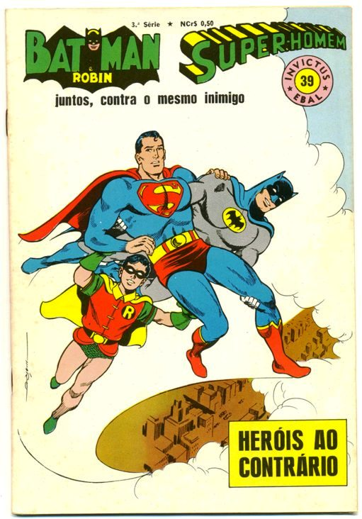 INVICTUS nº39 (BATMAN E SUPERMAN) - EBAL