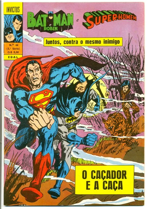 INVICTUS nº44 (BATMAN E SUPERMAN) - EBAL