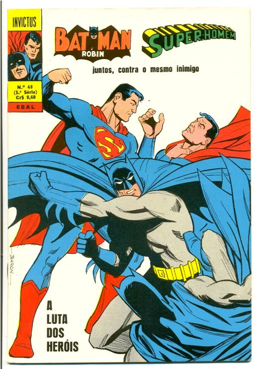 INVICTUS nº48 (BATMAN E SUPERMAN) - EBAL