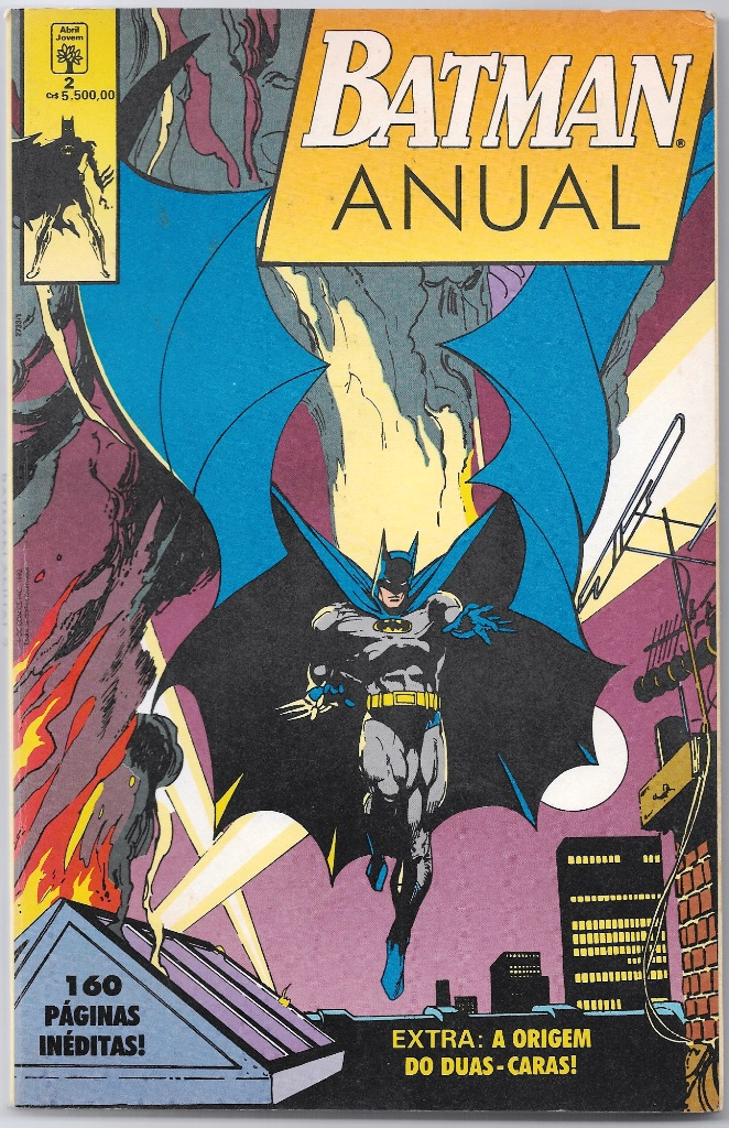 BATMAN ANUAL nº02 - ED. ABRIL