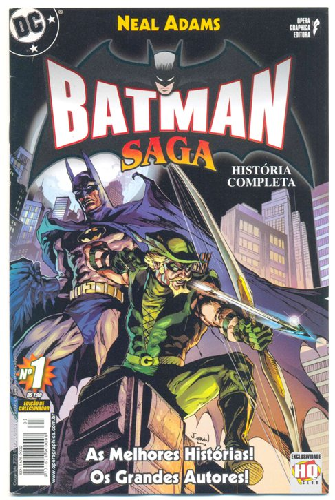BATMAN SAGA nº01 - ED. OPERA GRAPHICA