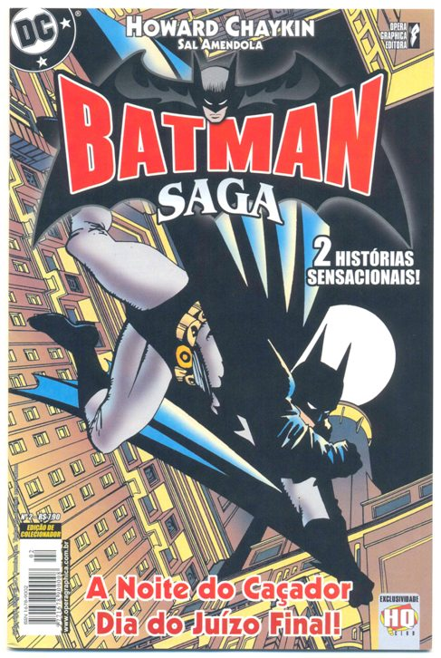 BATMAN SAGA nº02 - ED. OPERA GRAPHICA