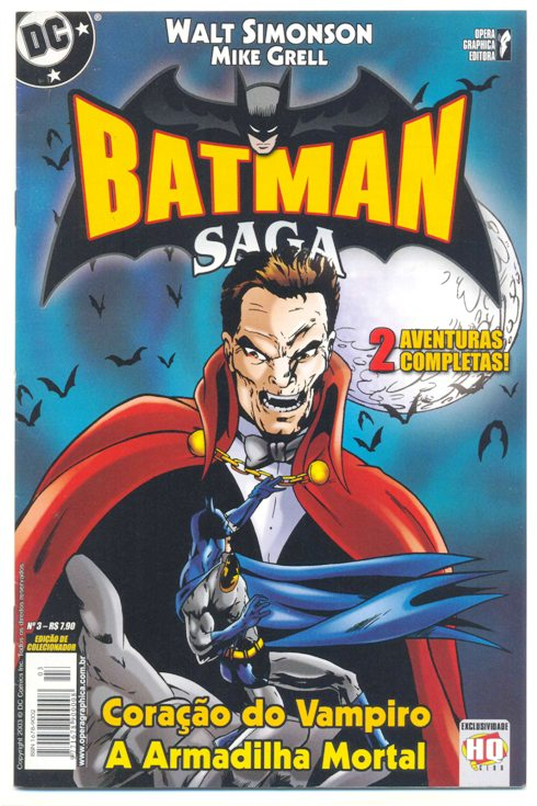 BATMAN SAGA nº03 - ED. OPERA GRAPHICA