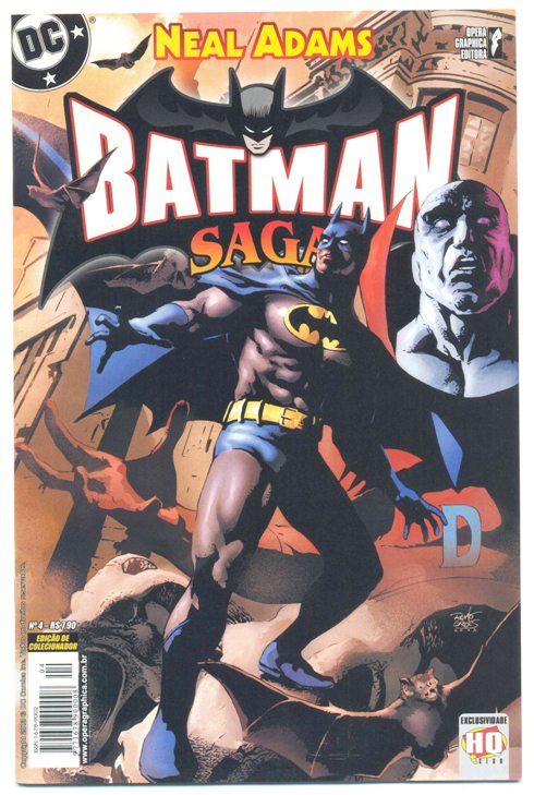 BATMAN SAGA nº04 - ED. OPERA GRAPHICA