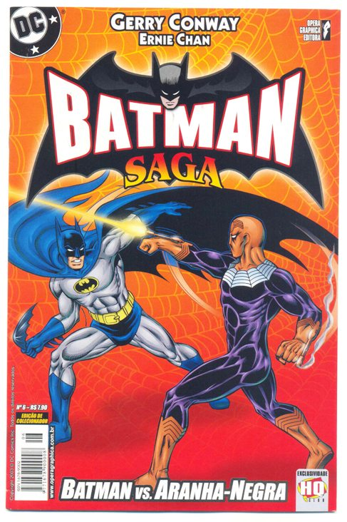 BATMAN SAGA nº06 - ED. OPERA GRAPHICA