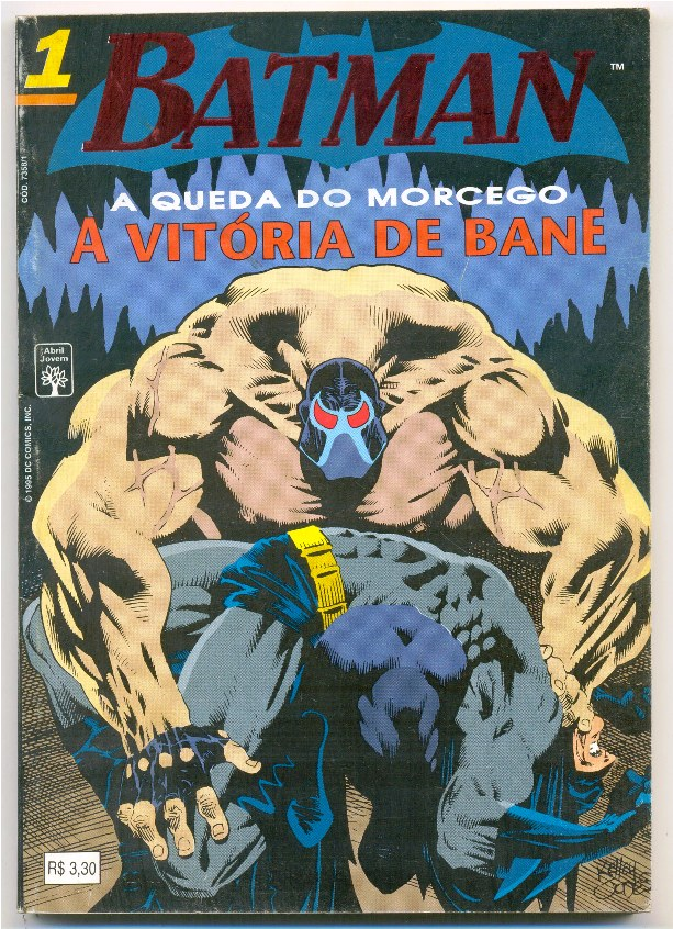 BATMAN 4ª SÉRIE nº01 - A QUEDA DO MORCEGO - ED. ABRIL