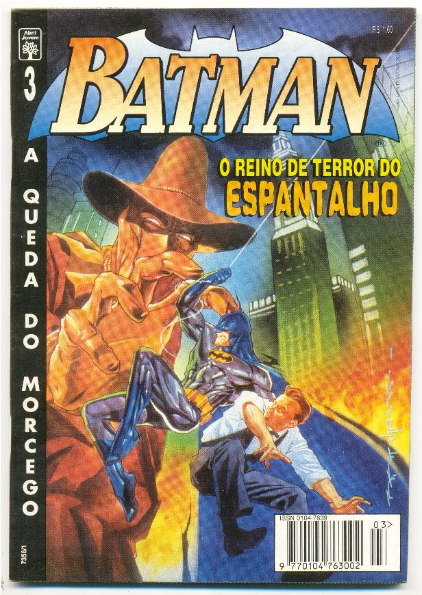 BATMAN 4ª SÉRIE nº03 - A QUEDA DO MORCEGO - ED. ABRIL