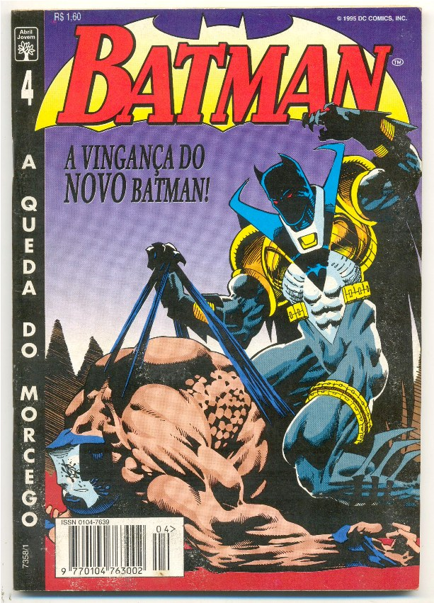 BATMAN 4ª SÉRIE nº04 - A QUEDA DO MORCEGO - ED. ABRIL
