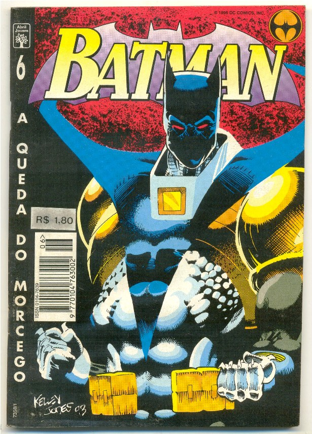 BATMAN 4ª SÉRIE nº06 - A QUEDA DO MORCEGO - ED. ABRIL