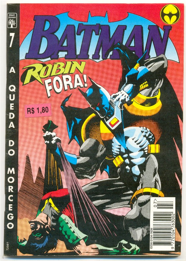 BATMAN 4ª SÉRIE nº07 - A QUEDA DO MORCEGO - ED. ABRIL