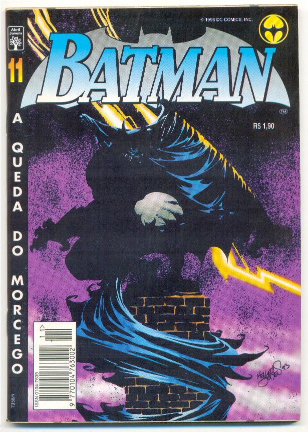 BATMAN 4ª SÉRIE nº11 - A QUEDA DO MORCEGO - ED. ABRIL