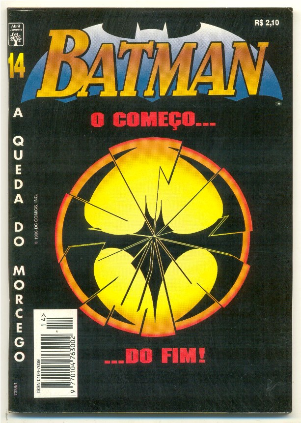 BATMAN 4ª SÉRIE nº14 - A QUEDA DO MORCEGO - ED. ABRIL