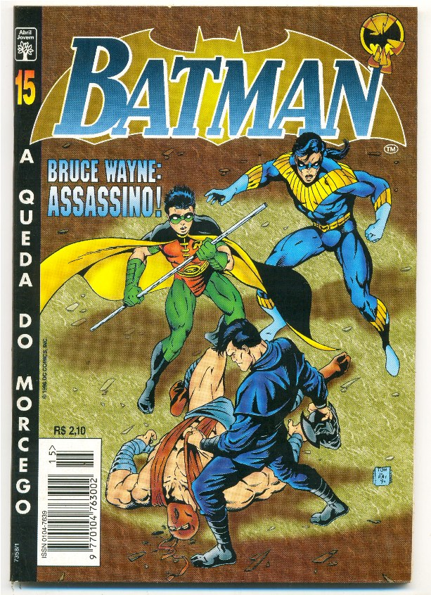 BATMAN 4ª SÉRIE nº15 - A QUEDA DO MORCEGO - ED. ABRIL