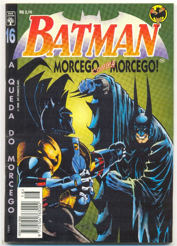 BATMAN 4ª SÉRIE nº16 - A QUEDA DO MORCEGO - ED. ABRIL