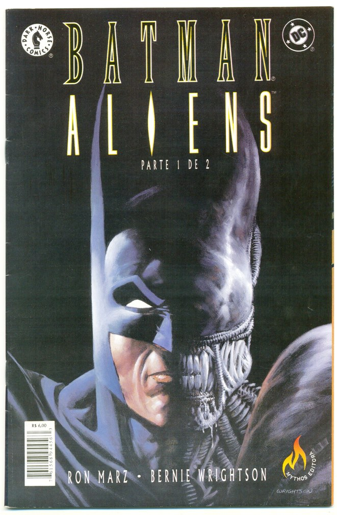 BATMAN ALIENS - PARTE 01 - ED. MYTHOS