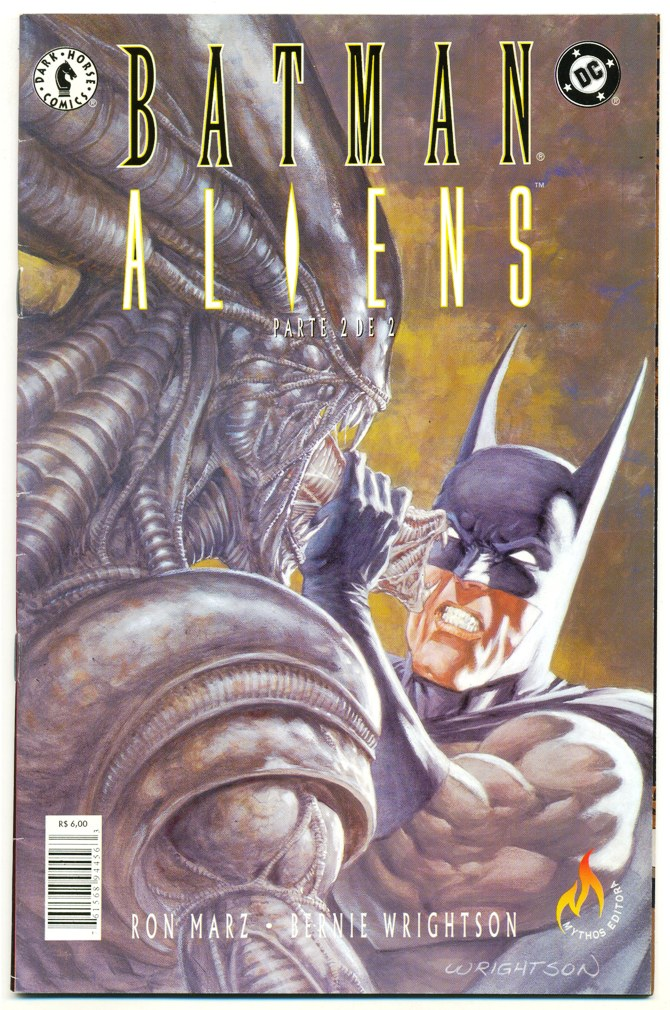BATMAN ALIENS - PARTE 02 - ED. MYTHOS