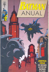 BATMAN ANUAL nº01 - ED. ABRIL