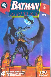 BATMAN ANUAL nº05 - ED. ABRIL