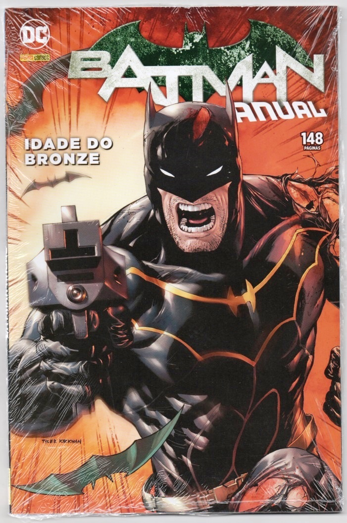 BATMAN ANUAL - PANINI - IDADE DO BRONZE