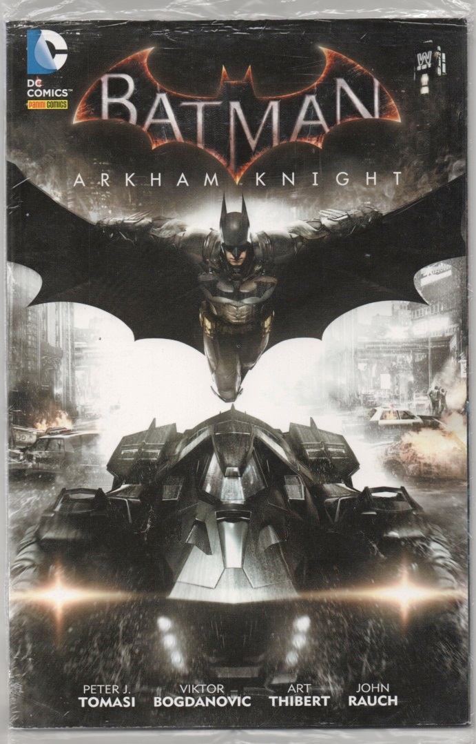 BATMAN ARKHAM KNIGHT nº01 - PANINI