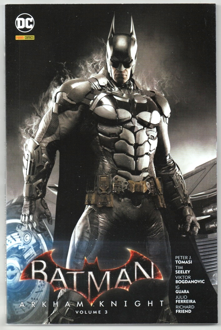 BATMAN ARKHAM KNIGHT nº03 - PANINI
