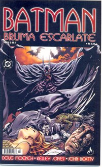 BATMAN BRUMA ESCARLATE - MINI-SÉRIE PARTE 02 - ED. MYTHOS