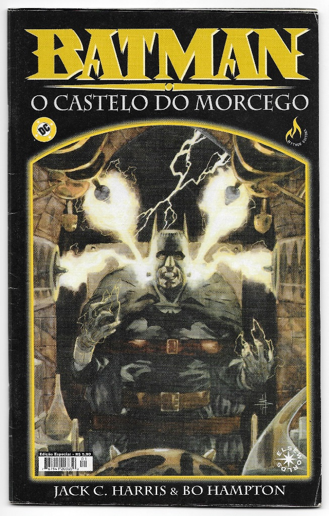BATMAN - O CASTELO DO MORCEGO - MYTHOS