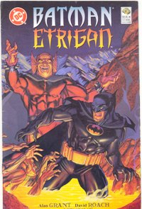 BATMAN & ETRIGAN - EDITORA BRAIN STORE