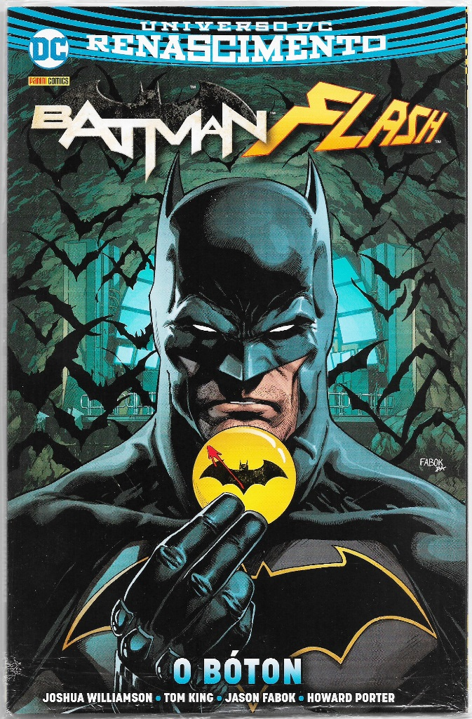 BATMAN FLASH O BÓTON nº01 - PANINI