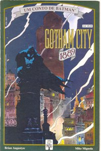 BATMAN GOTHAM CITY 1889 - ED. ABRIL