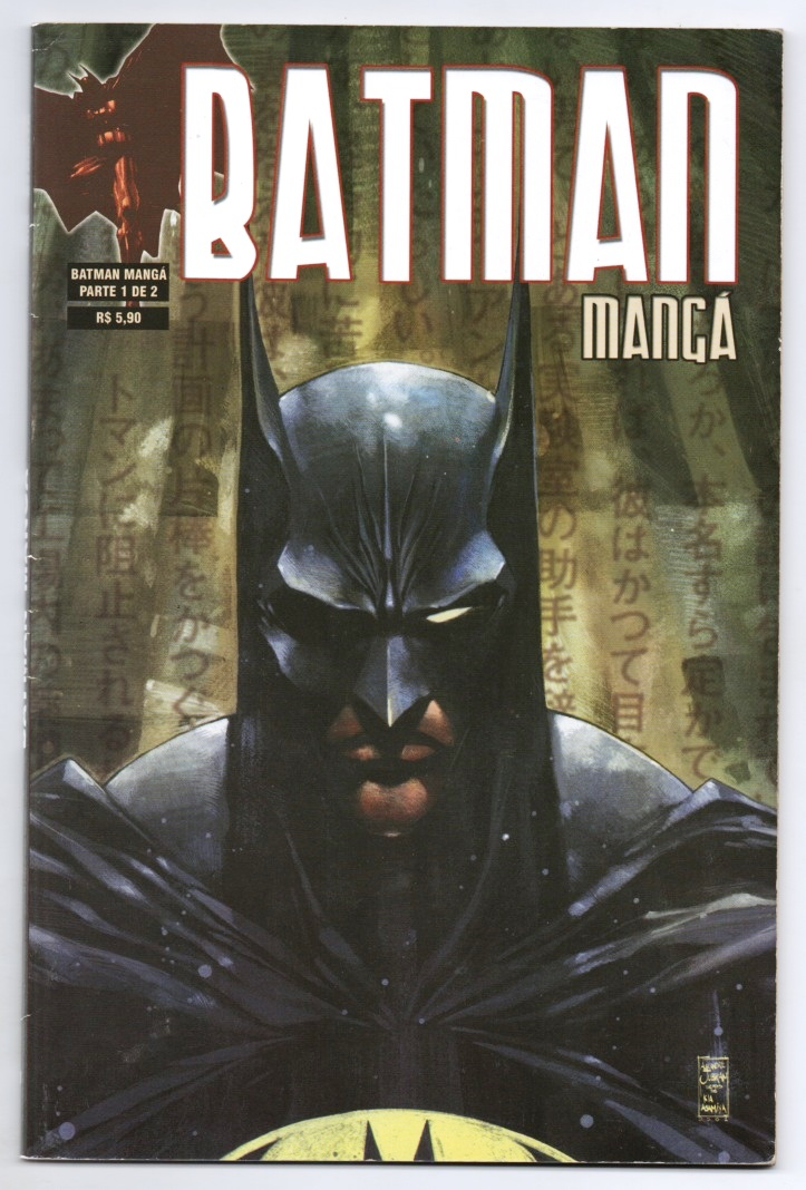 BATMAN MANGÁ VOLUME I PARTE 1 - ED. MYTHOS
