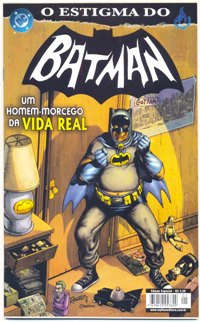 O ESTIGMA DO BATMAN - ED. MYTHOS