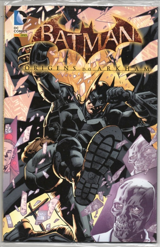 BATMAN - ORIGENS DO ARKHAM - PANINI