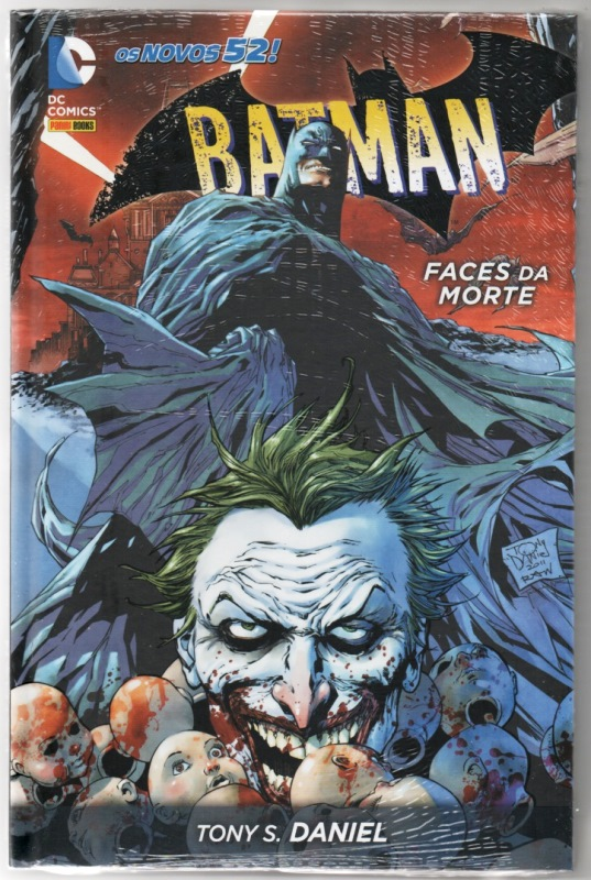 BATMAN - FACES DA MORTE - PANINI