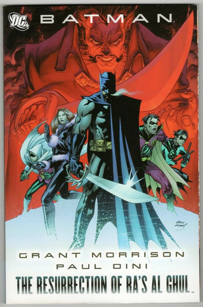 BATMAN - THE RESURRECTION OF RA\'S AL GHUL - REVISTA EM INGLÊS