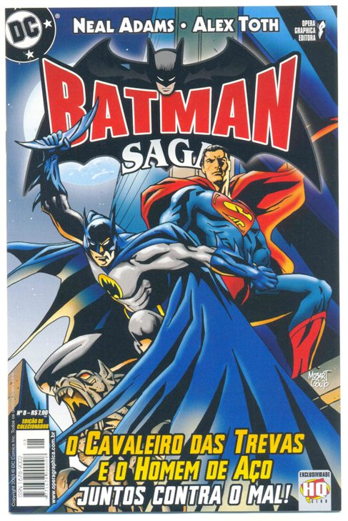 BATMAN SAGA nº08 - ED. OPERA GRAPHICA