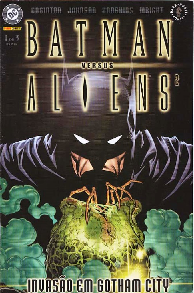 BATMAN vs ALIENS 2 - PARTE 1 - MINI-SÉRIE DA PANINI