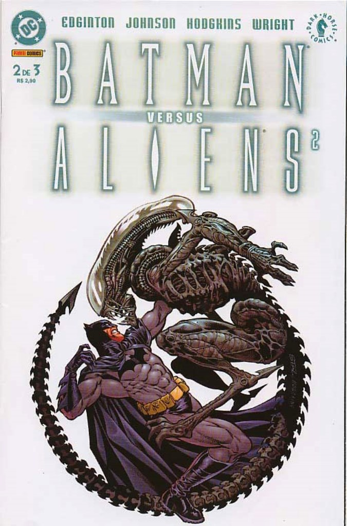 BATMAN vs ALIENS 2 - PARTE 2 - MINI-SÉRIE DA PANINI