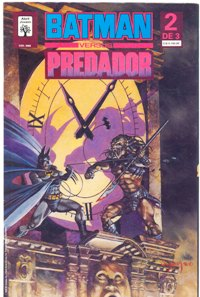 BATMAN vs PREDADOR I - PARTE II - ED. ABRIL