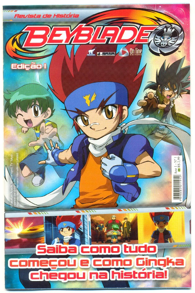 BEYBLADE nº01 - ED. ON LINE