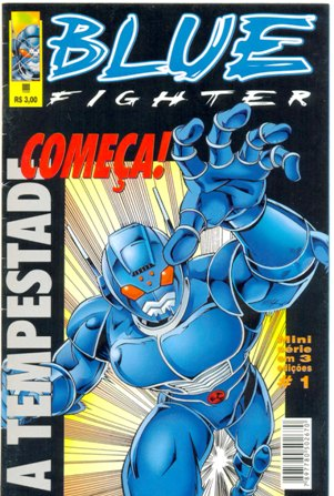 BLUE FIGHTER PARTE 01 - EDITORA TRAMA