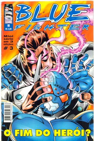 BLUE FIGHTER PARTE 03 - EDITORA TRAMA