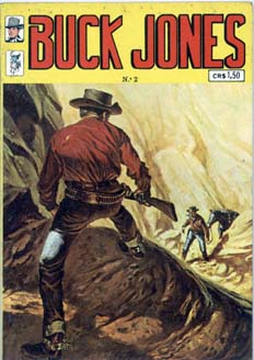 BUCK JONES nº02 - EDITORA PALADINO - 1972