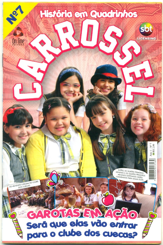 CARROSSEL nº07 - EDITORA ON LINE