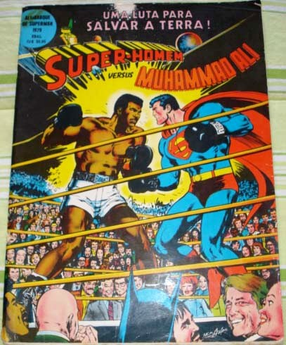 SUPERMAN vs MUHAMMAD ALI - EBAL - 1979 - GIGANTE