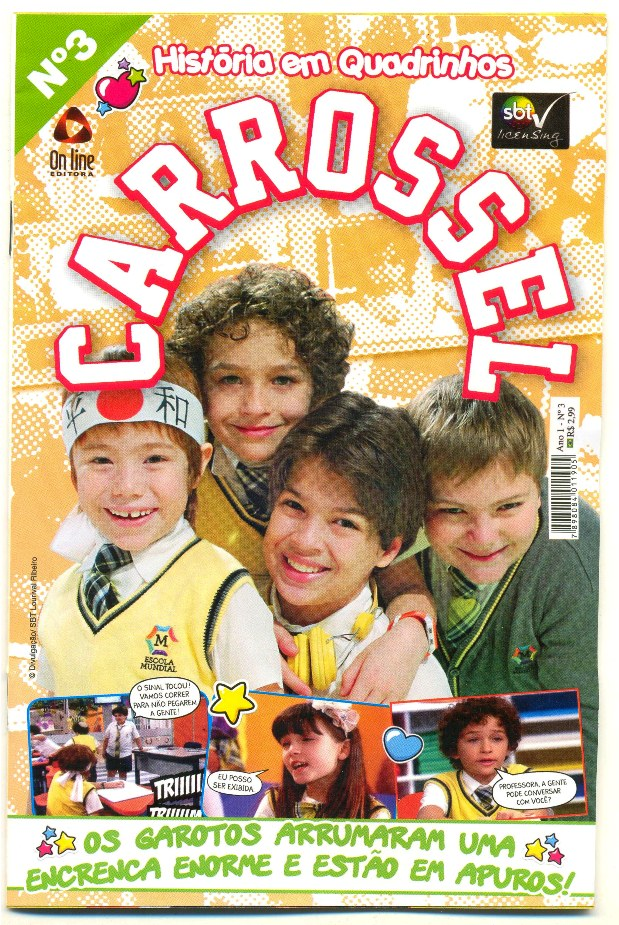 CARROSSEL nº03 - EDITORA ON LINE