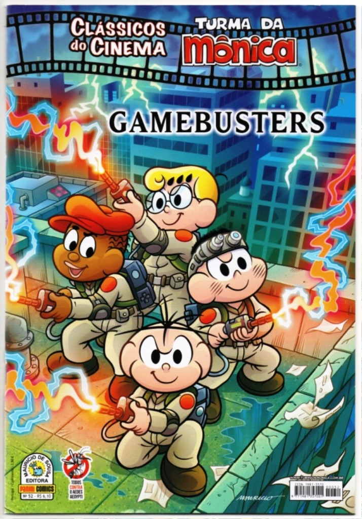 CLÁSSICOS DO CINEMA n°52 - GAMEBUSTERS - PANIN